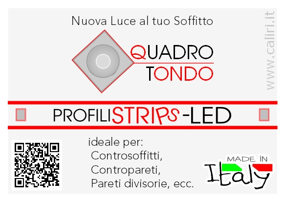 Novità Strips Led Profiles